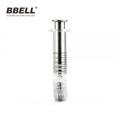 Warmer heater for luer lock glass syringe oil cartridge