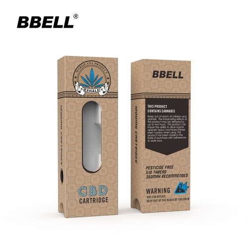 Original design and manufacturer Custom luxury cbd Cartridge Packaging Child proof Boxes